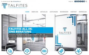Neuer Web-Auftritt von TA`LFITES Unternehmensberatung mit All-in-one-Consulting für Vertrieb, Finanz, Technik, Steuer und Recht.